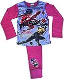 Miraculous Filles Coccinelle Pyjama Âge 4 pour 10 Ans - Rose, 7-8 Ans