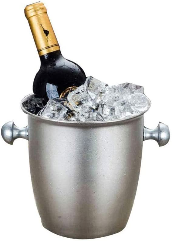 WJCCY Metal 5 famous popular Ice Bucket, Steel Stainless Bucket Wine