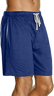 Hanes Men's 2-Pack Knit Short (Large, Navy)