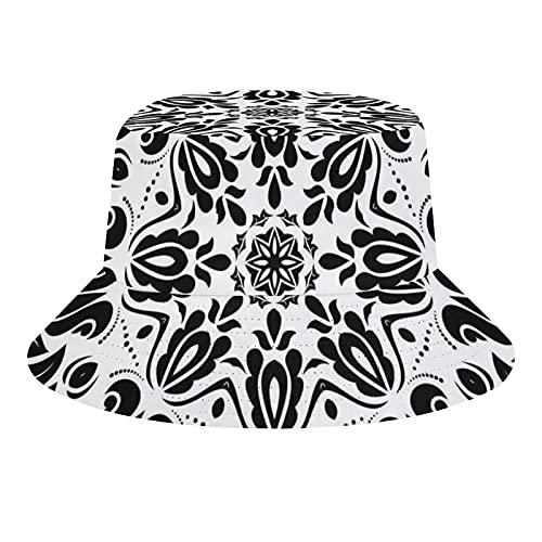 MEITD Sombrero de verano sombrero de sol de playa sombrero al aire libre unisex cereza, Blanco-estilo1, 7/7 1/8