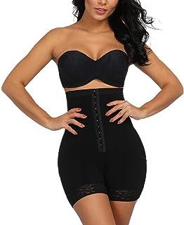 72041caad GINVELL Women Shapewear High Waist Control Panties Underwear Butt Lifter  Control Corset Pants Briefs