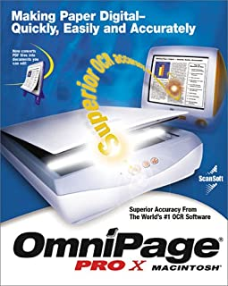 OmniPage Pro X for Macintosh Upgrade