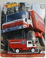 Hot Wheels【ALL TERRAIN】'88 MERCEDES UNIMOG U1300