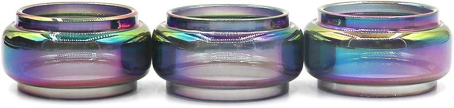RUIYITECH - Tubo de Repuesto Pyrex de Vidrio Transparente para atomizador de Tubo de Tanque de Vidrio Stick V9 MAX Rainbow 3 Pack