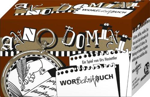 ABACUSSPIELE 09071 - Anno Domini - Wort Schrift Buch, Quizspiel, Schätzspiel, Kartenspiel