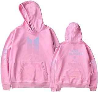 Kpop BTS Love Yourself Her Hoodie Suga Rap-Monster Unisex Fashion Jumper for Women Men Sweatshirt
