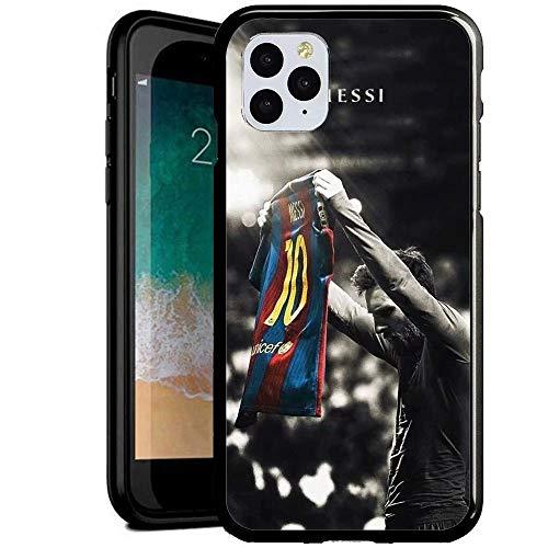 DM Compatible con iPhone 6/iPhone 6S Funda, Cubierta Trasera de Cristal Templado + Marco de TPU Carcasa híbrida a Prueba y arañazos Funda iPhone 6/iPhone 6S [BGH300007]