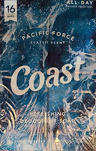 Coast Classic Original Scent 4oz, 8 Bars 2 Packs (total 16 count)