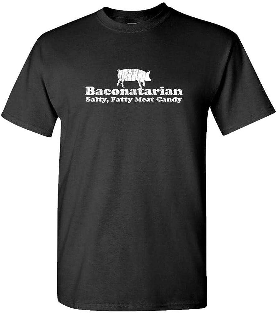 Guacamole BACONOTARIAN - Salty Fatty Meat Candy - Mens Cotton T-Shirt