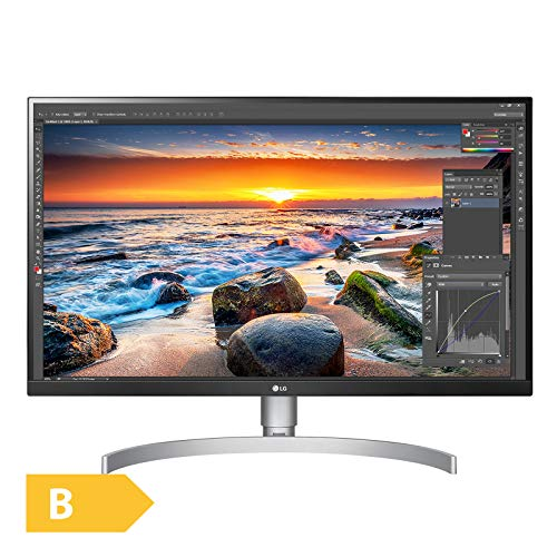"LG 27UK850 Monitor per PC Desktop 27"", LED IPS UltraHD 4K HDR 10, 3840x2160, AMD FreeSync, MAXXAudio 10W, 2 HDMI, 1 Display Port"