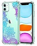 Oihxse Transparent Coque pour iPhone 11 Pro Max Souple TPU Silicone Protection Etui Air Cushion...