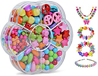 Colorful Beads DIY Toys For Children String Beads Make Up Puzzle Toy Girls Educational Making Jewelry Necklace Bracelet To...