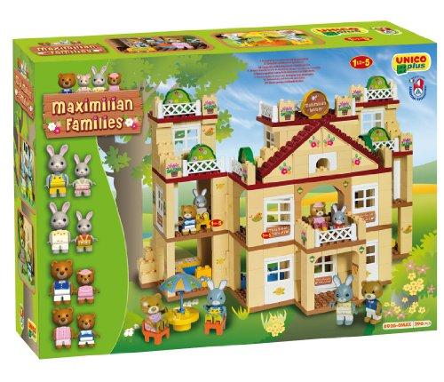 Androni Unico Plus 8926 Maximilian Families - Hotel para Construir (296 Piezas)