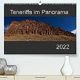 Teneriffa im Panorama (Premium, hochwertiger DIN A2 Wandkalender 2022, Kunstdruck in Hochglanz): Ansichten und Landschaften der kanarischen Insel im Panoramaformat. (Monatskalender, 14 Seiten )