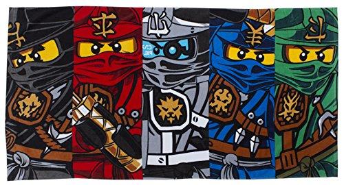 LEGO handdoek, motief Ninjago-krijger