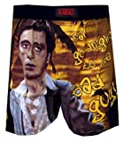 MJC Men's Scarface Say Goodnight Bad Guy Boxers (Small)