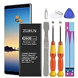 Galaxy Note 8 Battery ZURUN 3600mAh Li-Polymer Battery EB-BN950ABE Replacement for Samsung Galaxy Note 8 SM-N950 N950V N950A N950T N950P N950R4 N950F with Screwdriver Tool Kit [2 Year Warranty]
