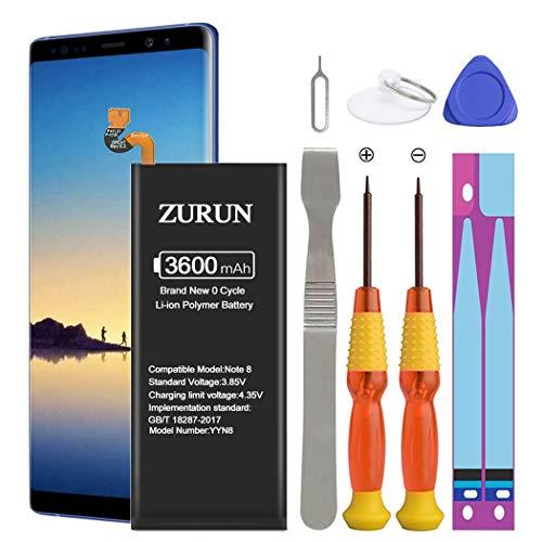 Galaxy Note 8 Battery ZURUN 3600mAh Li-Polymer Battery EB-BN950ABE Replacement for Samsung Galaxy...