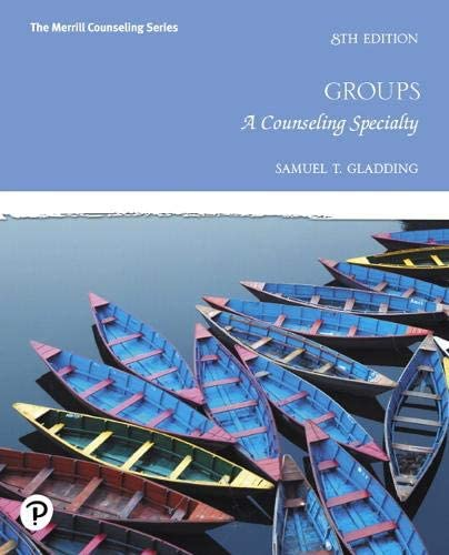 Groups A Counseling Specialty The Merrill Counseling Series product image