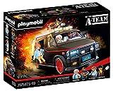 PLAYMOBIL 70750 La furgoneta del Equipo A, Diseño icónico para fans, coleccionistas y niños, de 5 a 99 años