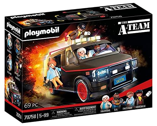 PLAYMOBIL 70750 The A-Team Van - im ikonischen Design, Für A-Team Fans, Sammler und Kinder, 5 - 99 Jahre