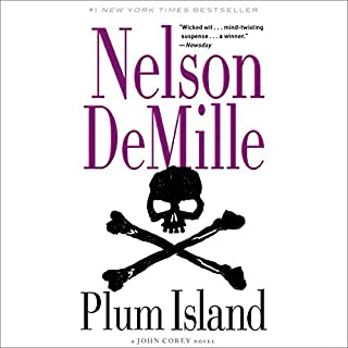 Plum Island audiobook cover art