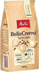 Melitta Ganze Kaffeebohnen, 100% Arabica, milder Geschmack, leichter Charakter, Stärke 2, BellaCrema