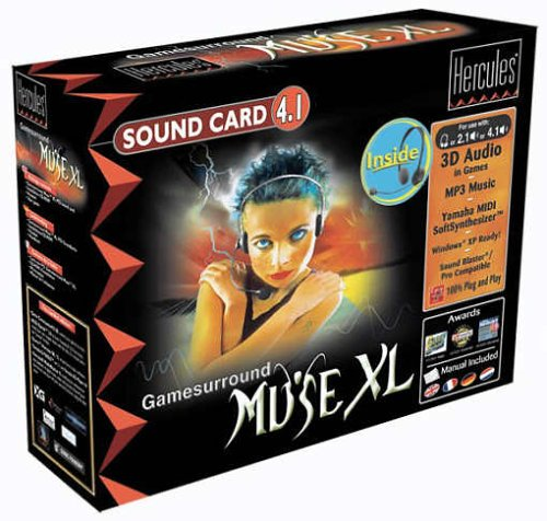Hercules Game Surround Muse XL Soundkarte