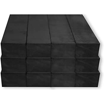 """8 PACK STRONG CERAMIC MAGNET RECTANGLE W// HOLE 3//4/"""" X 1/"""" X 1//8/"""" FREE SHIP"""