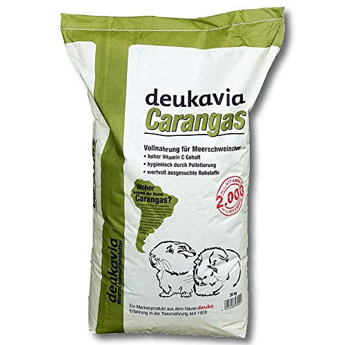 Deukavia Carangas Meerschweinchen Vollnahrung mit Vitamin C, 20 kg