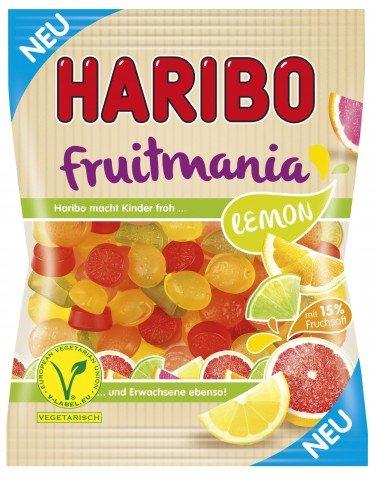 Haribo Fruitmania Lemon Fruchtgummi vegetarisch 6 x 175g