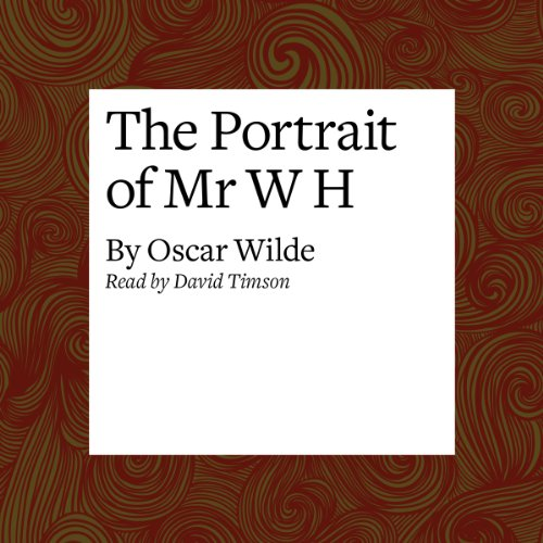The Portrait of Mr. W H cover art