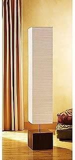 Mainstays Floor Lamp Dark Wood Finish (Lamp Only)