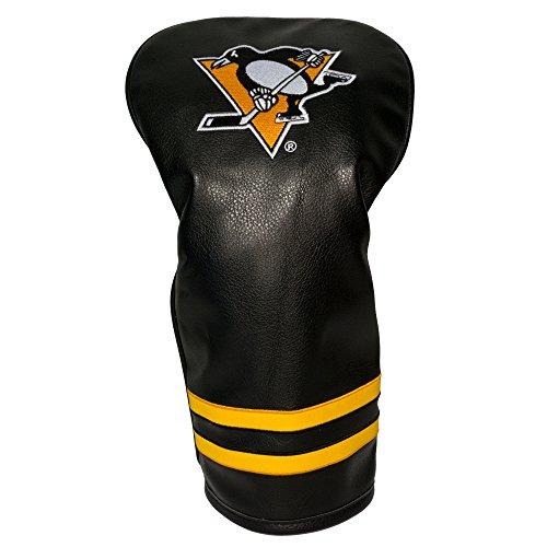 Team Golf NHL Pittsburgh Penguins Vintage Driver Golf Club Headcover, Form Fitting Design, Retro Design & Superb Embroidery