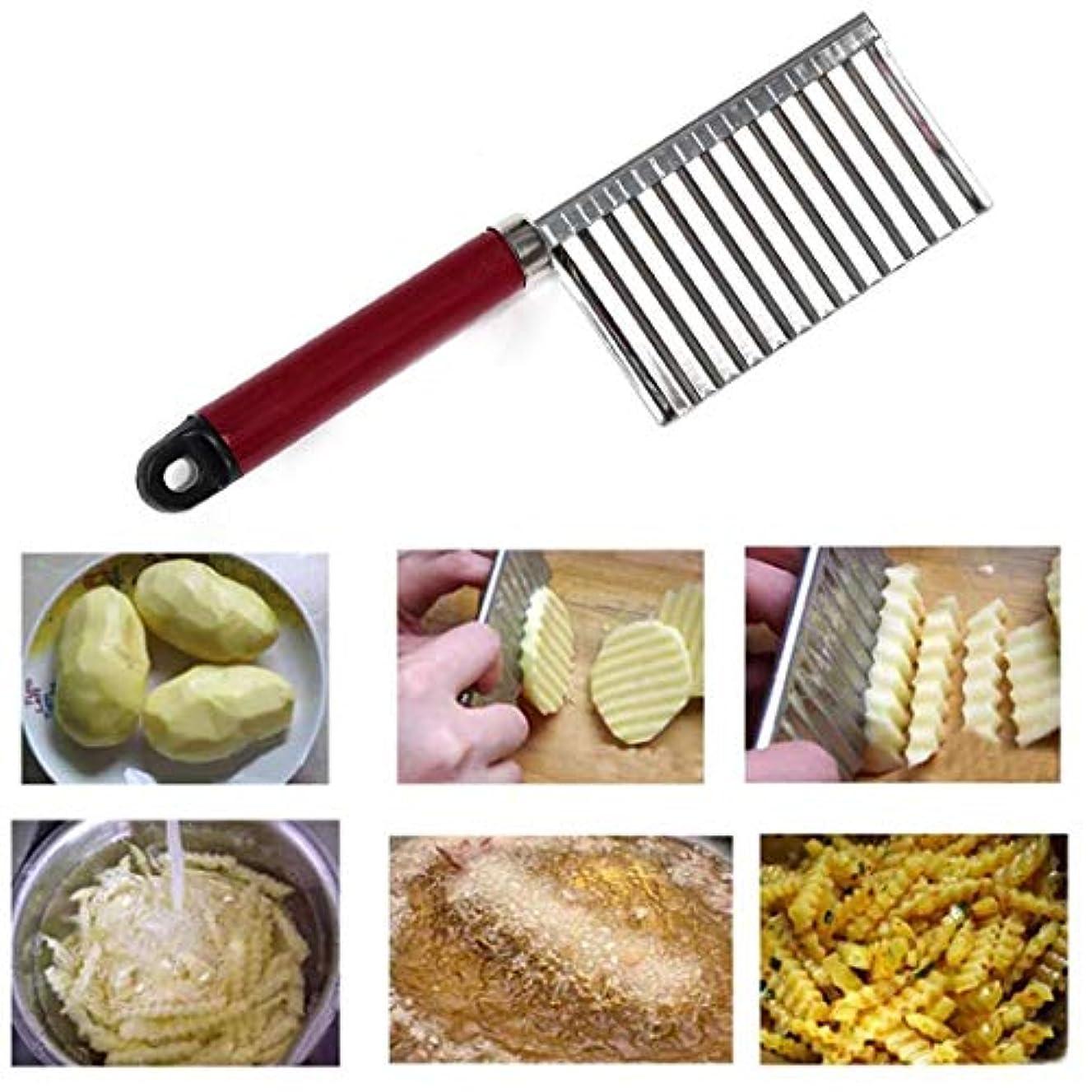 DREAMVAN Stainless Steel Potato Slice Cutter Vegetable Fruit Knife Kitchen Tool Peelers