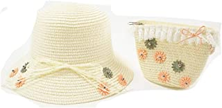 Adorabo Hats Mini Straw Hat & Purse Set for Kids, Daisy
