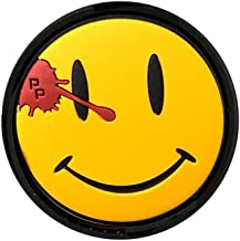 Patch Panel Watchmen Smiley PVC Rubber Tactical Morale Patch - Perfect Hook Backed Patches to be Added to Uniforms, Jackets, Backpacks