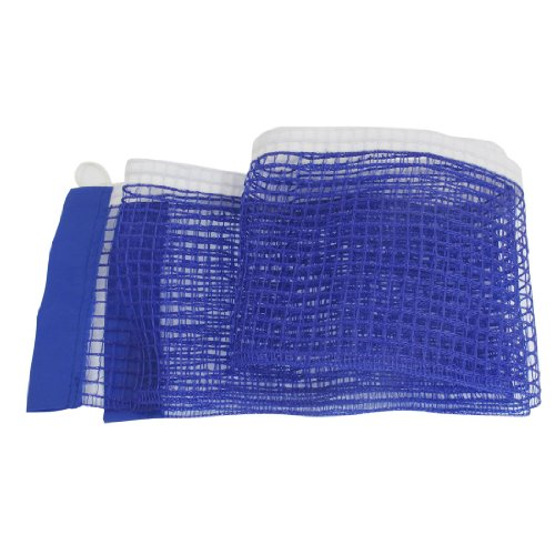 Fantastic Deal! uxcell Nylon Replacement Table Pingpong Sports Tennis Mesh Net w Pull String Blue