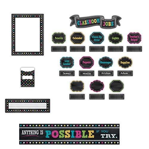 Teacher Created Resources Chalkboard Brights Classroom Kit (32402) Photo #3