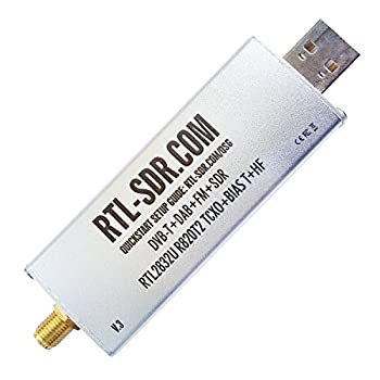 RTL-SDR Blog R820T2 RTL2832U 1PPM TCXO SMA Software Defined Radio  Dongle Only