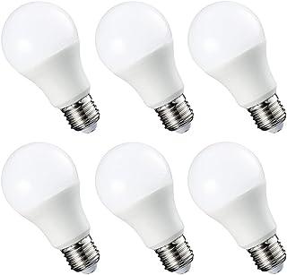 Yaeer E27 LED Bulb, 9W 812 lumens E27 LED Lamp Replaces 60W Bulb A60, 3000K Warm White, Energy Saving Lamp, 6-Pack
