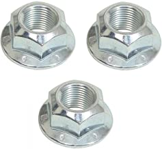 Xyoc Buying Q Buying S Replacement Cub Cadet Zero Turn Blade Spindle Nut for RZT 50 - RZT 54 - RZT42 (3 Pack)