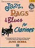Jazz, Rags & Blues for Clarinet (Buch & CD) - Martha Mier