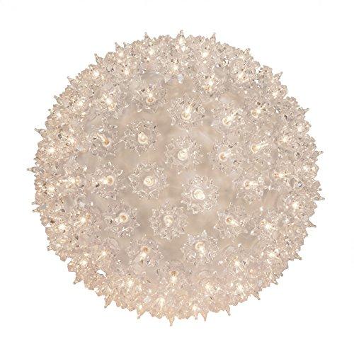 Wintergreen Lighting Mega Starlight Sphere 150 Lights, 10', Clear