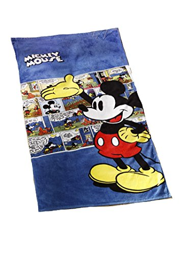 Global Labels Strandtuch Mickey Mouse Original Disney Retro Style 75x150cm
