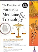 THE ESSENTIALS OF FORENSIC MEDICINE TOXICOLOGY [Paperback] REDDY K.S.NARAYAN