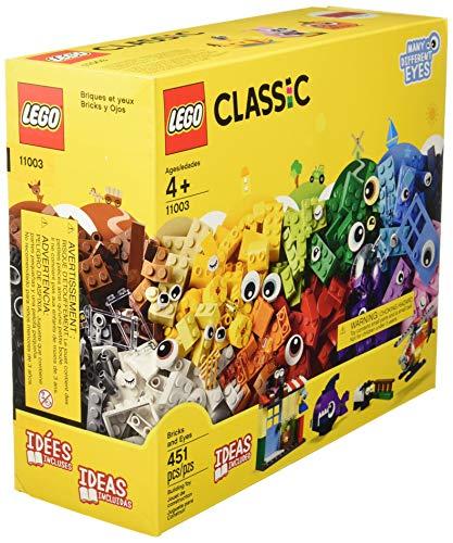 LEGO Classic 11003 Bricks and Eyes Building Kit (451 Piece)