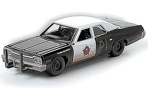 Dodge Monaco, Bluesmobile aus dem Film Blues Brothers, 1974, Modellauto, Fertigmodell, Greenlight 1:64
