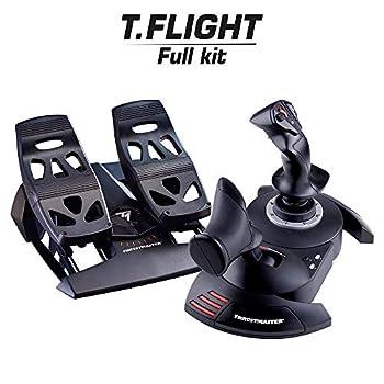 Thrustmaster Full Flight Kit - T-Flight Hotas X + TFRP Rudder Bundle - Windows