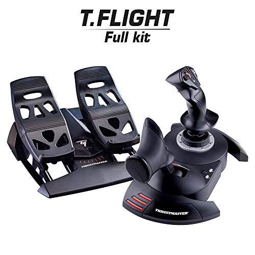ThrustMaster ThrustMaster Full Flight Kit - T-Flight Hotas X + TFRP Rudder Bundle - PC; Mac; Linux
